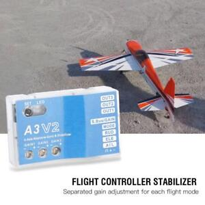 F50A-3-Axle-Gyro-A3-V2-Flight-Controller-Stabilizer-System-for-RC-Airplane