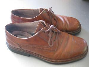 huge discount 2803d 38403 Details zu Herren Designer Schuhe Galizio Torresi echtes Leder, braun,  Größe 44