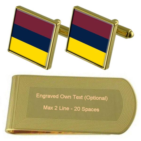 GüNstig Einkaufen Militär Königliche Medizinisches Korps Trf Graviert Geldklammer Schachtel Set