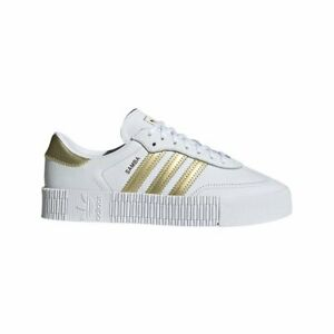 Rizo perturbación Hora  Zapatillas adidas Sambarose W Blanco Mujer | eBay