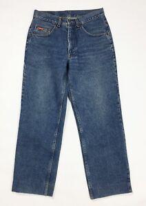 Carrera-jeans-uomo-usato-w32-tg-46-gamba-dritta-vintage-denim-boyfriend-T4032