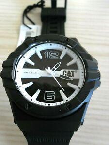 Details About Uhr 111 Watch Caoutchouc Noirblanc Neuf Caterpillar Lc Bracelet Montre 21 132 wv80ymNnO