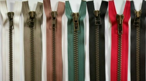 "YKK 22/"" Separating Two Way Vislon Parka Zipper Made in USA"
