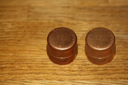 2 X 22MM SOLDER RING STOP  END  COPPER FITTINGS  PLUMBING FITTINGS
