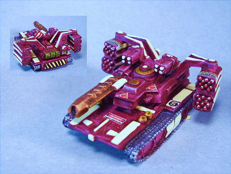Battletech painted Behemoth II tank MWC
