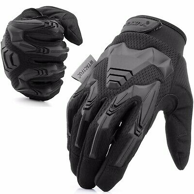 Outdoor Motorcycle Full Finger Gloves Mens Driving Motocross Cycling Moto Riding