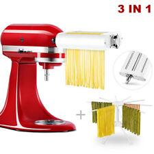 KitchenAid KSMPRA 3-Piece Pasta Roller and Cutter Set - Red/Silver