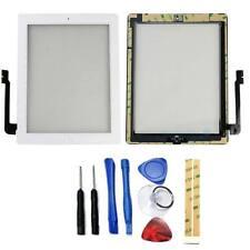 Vitre tactile Blanc iPad 3 A1416 Wifi + Bouton Nappe & Home + Adhésif