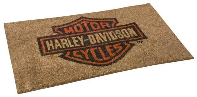 Harley Davidson Core Bar U0026 Shield Coco Entry Mat, 30 X 18 Inches HDX