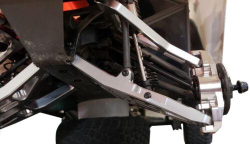 Dhawk CNC Aluminum Conversion Kit Red For Traxxas Unlimited Desert Racer UDR