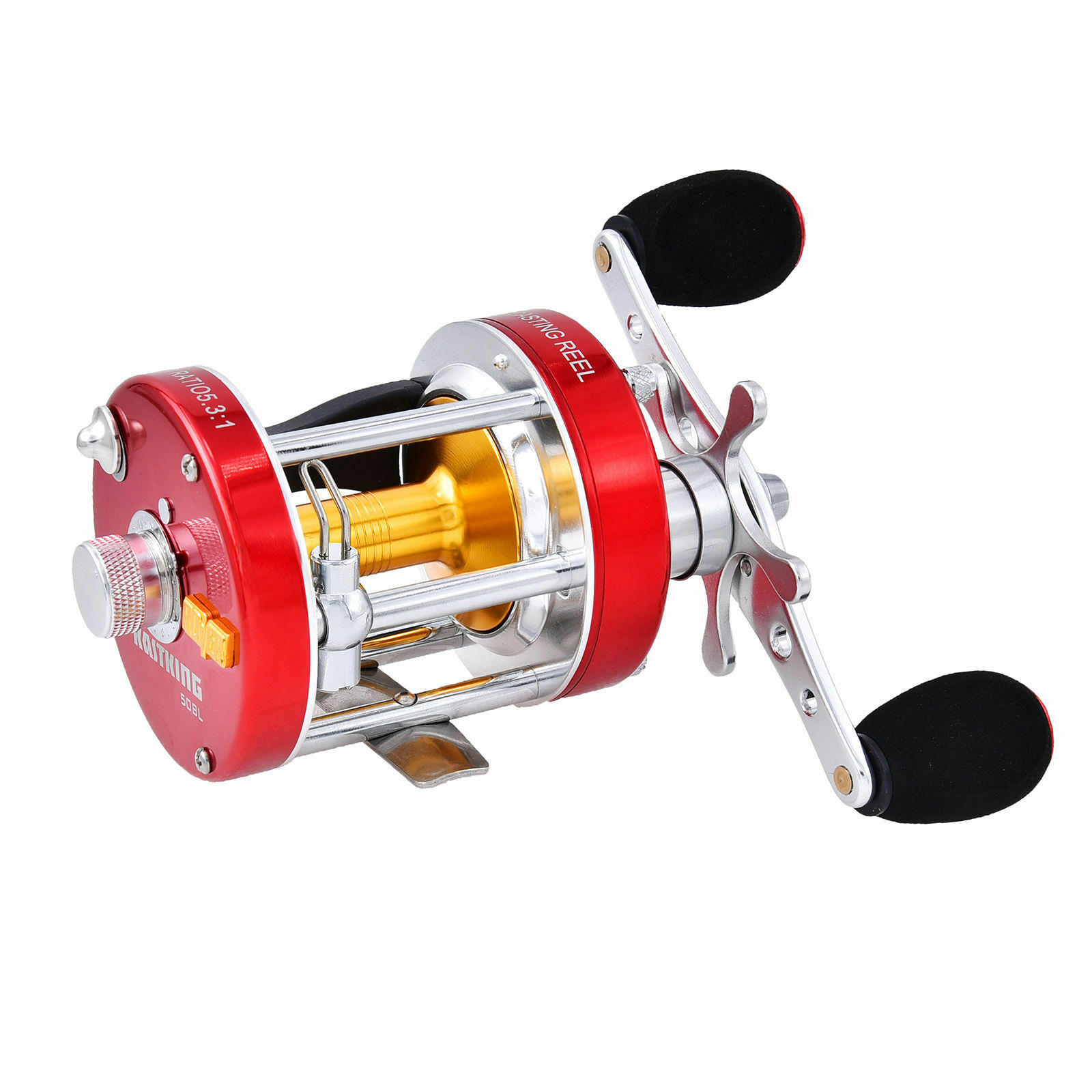 KastKing Rover Conventional Reel Round  Saltwater Baitcasting Fishing Reel Metal  on sale