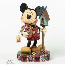 """DISNEY TRADITIONS Mickey Mouse """"For You"""" NEU/OVP Jim Shore Micky Figur"""