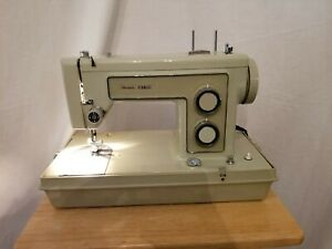Sears-Roebuck-amp-Co-Vintage-1972-73-Sewing-Machine-Model-158-13180-EUC