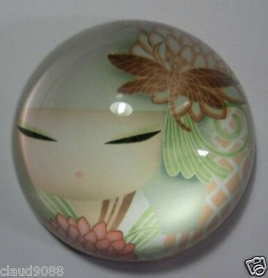 "KIMMIDOLL PAPERWEIGHT - KAZUMII- NEW 2014"" KS0861  MINT IN BOX"