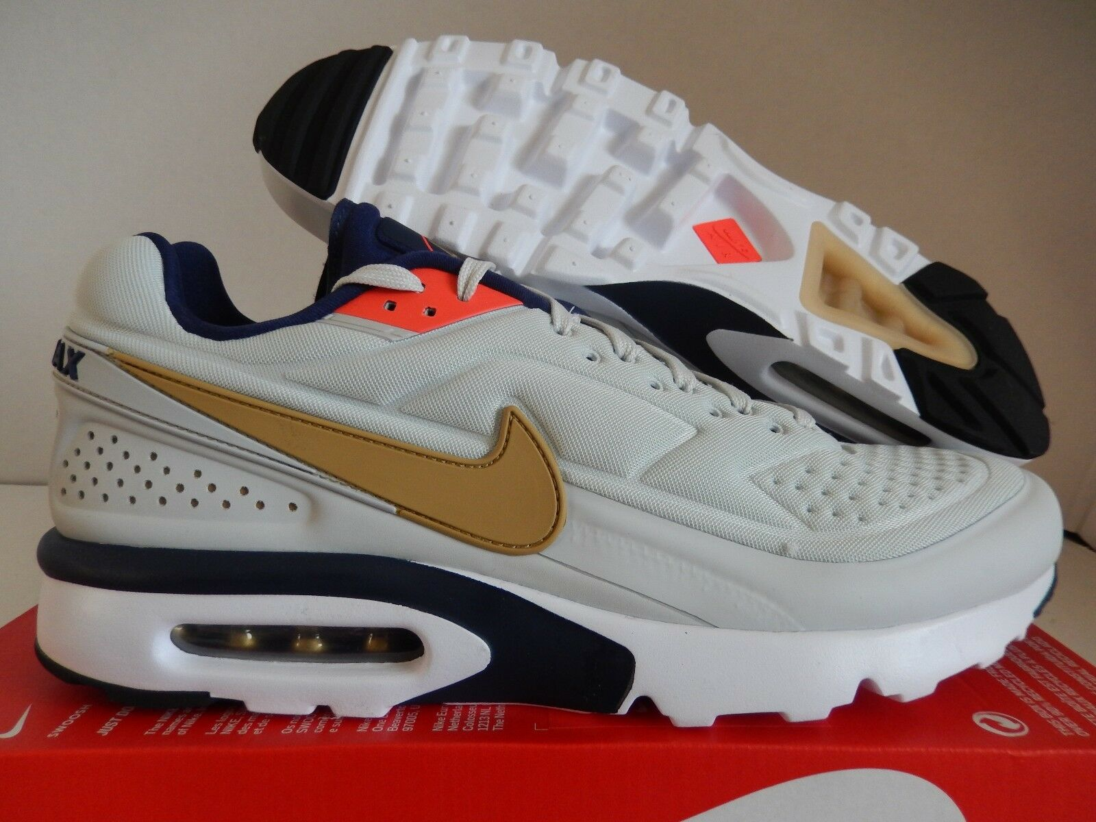 NIKE AIR MAX BW ULTRA SE PURE PLATINUM-GOLD