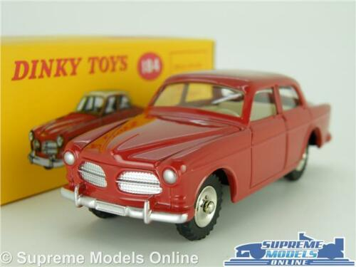 Dinky Toys Volvo Amazon 122S Coche Modelo 1:43 escala 184 Rojo Atlas Saloon K8