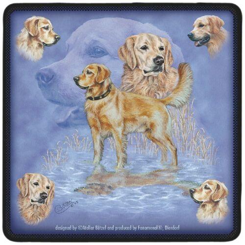 2ER SET UNTERSETZER Hundemotiv GOLDEN RETRIEVER NEU 23523 Collection Boetzel