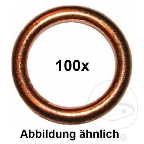 Dresselhaus Exhaust Copper Sealing Rings 14X20X2.0MM 4001796056017 x100pcs