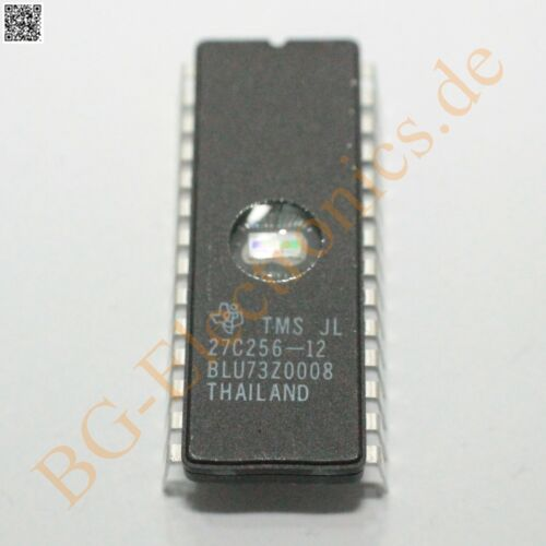 1 x TMS27C256-12JL EPROM EPROM 256k//120ns TMS27C256-12-JL TI CDIP-28 1pcs