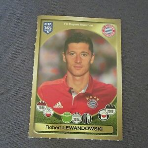 547E-Panini-Fifa-365-Coupe-Confederations-2017-Lewandowski-308-Sticker