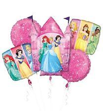NEW Disney Princesses Mylar Birthday Party Favor Supplies Balloon Bouquet 5pc~