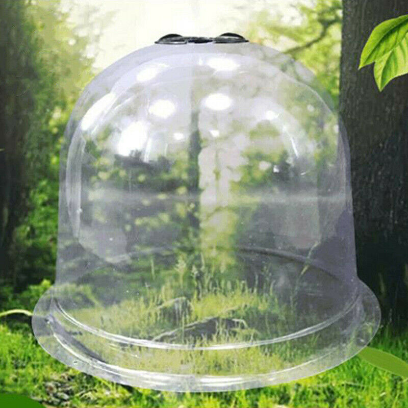 Garden Bell Cloche Mini Greenhouse Weather & Pest Plant Protection Cover Durable