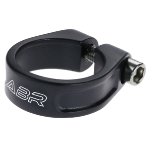 CLEARANCE ABR Orbiter Bolted Seat Clamp BLACK 31.8mm