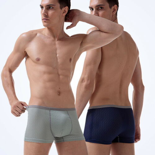 Summer Sports For Men/'s Mesh Briefs Short Pants Soft Underpants Underwear Breath