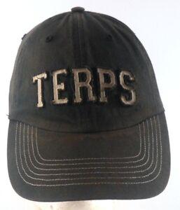 Maryland-Terrapins-Terps-NCAA-Distressed-Strapback-Adjustable-Cap-Hat