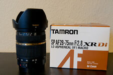 TAMRON SP AF 28-75mm f/2.8 Macro XR Di LD Lens for Canon