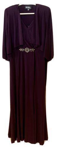 Ursula of Switzerland, Size 18 Jacket Dress