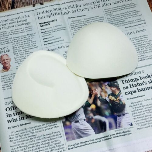 1Pair Women Foam Top Push Up Bra Pads Insert Breast Enhancer Bikini pad SwimWear