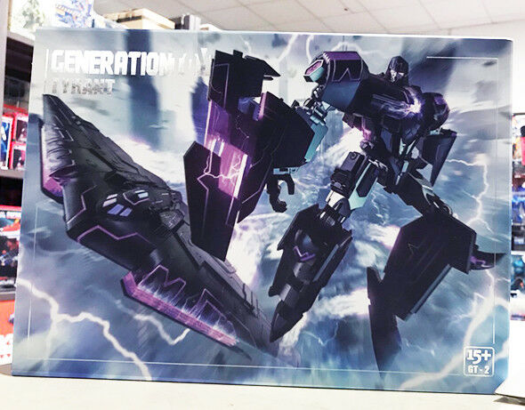 Transformers Generation Toy G-2 Tyrant IDW Megatron Action Figure