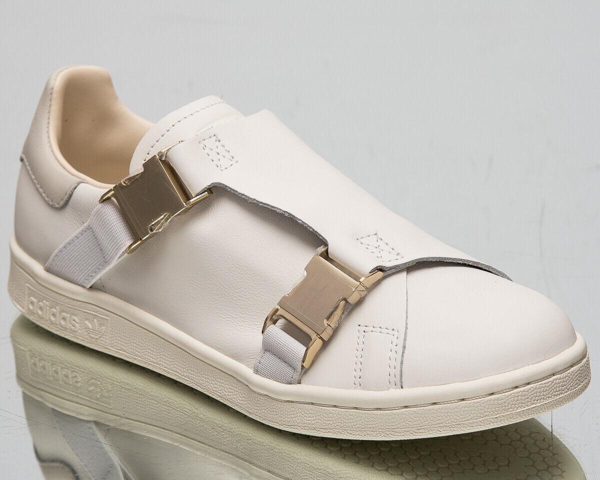 Adidas Stan Smith Schnalle Damen über Weiß Freizeit Lifestyle Turnschuhe