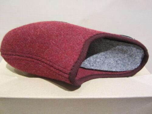 bontvoering voor met voetbed rood Slipperspantoffels Nieuw Frankenwald dames tIP5Onw