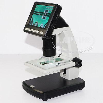 "3.5"" LCD 500X Desktop Digital MicroScope 5MP HD USB TV Camera Video Recorder AU"