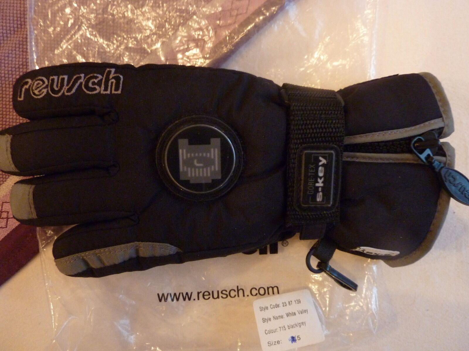 Reusch Gr. Skihandschuhe Gr. Reusch 5 - GoreTex mit Echtleder und Thinsulate Füllung 48d5b5