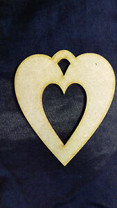 In-legno-MDF-Cuore-con-Cut-Out-Craft-Forma-Abbellimento-Decorazione-Matrimonio