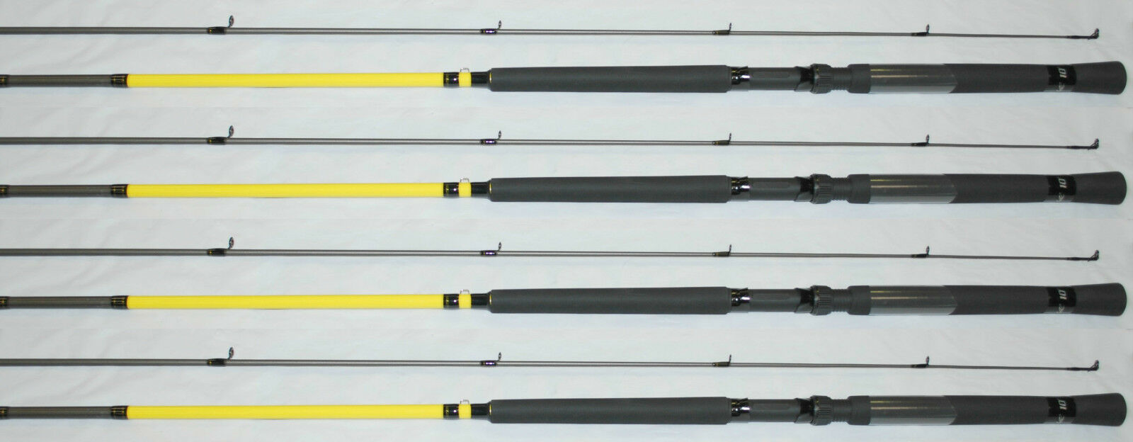 Lew's MR. CRAPPIE SLAB DADDY  FISHING POLES,   ROD 10' SD10L-2 (1 SET OF FOUR)  fashionable