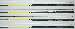 Lew's MR. CRAPPIE SLAB DADDY FISHING POLES, ROD 10' SD10L-2 (1 SET OF FOUR)