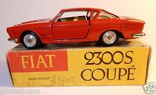 ORIGINAL RARE OLD MERCURY FIAT 2300 S COUPE ROUGE 1/43 REF 23-2 1964 IN BOX