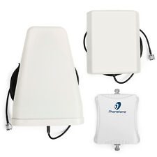 850/1800MHz 2G Cellular Pall Signal Booster 3G Repeater Ampilfier + Antennas Kit