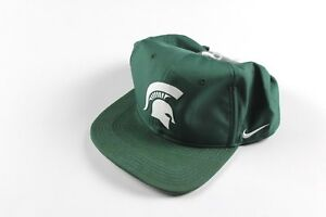 New Nike Dri-Fit Michigan State Spartans Adjustable Snapback Hat Cap ... bc0e39f072c2