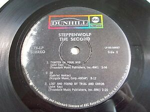 Steppenwolf-The-Second-7-034-Jukebox-EP-1968-Dunhill-75-LP-Stereo-Vinyl-Record