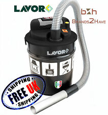 Lavor ASHley 1.0 Ash Vacuum Cleaner 800W 12L Stove Wood Firepit Fire Vac Filter