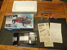 Vintage 1970's The Incredible Brain Buggy Computer Programed Control Car w/ Box