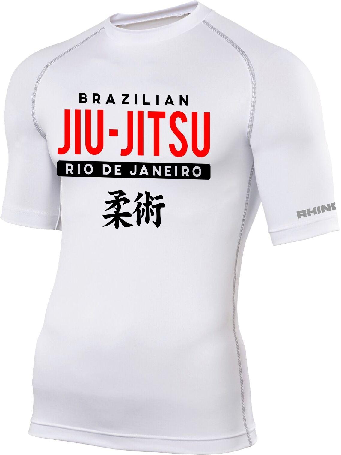 Brazilian Jiu Jitsu Rash Guard Base Layer BJJ MMA Grappling UFC Training 2748