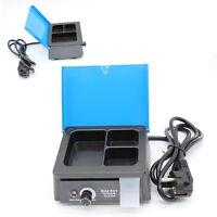 Dental Wax Heater Pot Lab 3-well Analog Melter Dipping Digital Pot Melting 110v