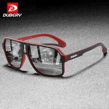 Dubery Moda Hombres Gafas de sol polarizadas TAC Espejo Gafas Deportes al Aire Libre UV400