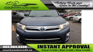 2013 Toyota Highlander Hybrid I Everyone Approved I Inhouse Avai